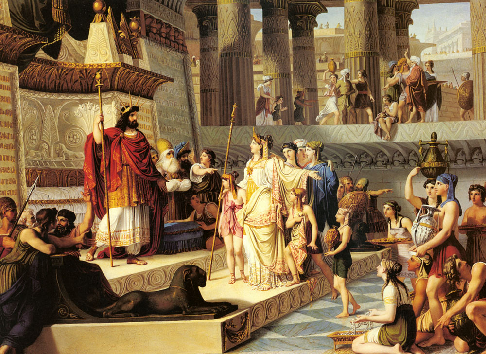 The United States of the Solar System: A.D. 2133 (Book Two) - Page 18 Solomon_and_the_queen_of_sheba-large