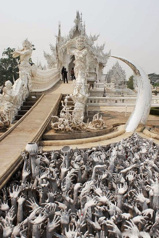 المعبد الأبيض..من أجمل الأبنية في العالم White-temple-thailand-Wat_Rong_Khun-4