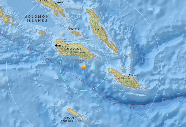 They keep on coming: A magnitude 6.0 - 98km SE of Honiara Untitled