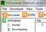 HiDownload Platinum 8.08 برنامج تسريع تنزيل الملفات من الانترنت HiDownload-Platinum-thumb%5B1%5D
