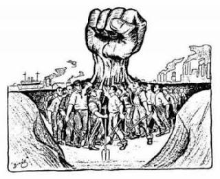 """""""Directrices para la acción comunista en los sindicatos (Extractos)"""" - Adoptadas por el IV Congreso de la Internacional Comunista en diciembre de 1922 Vi%25C3%25B1eta-sindicatos"""