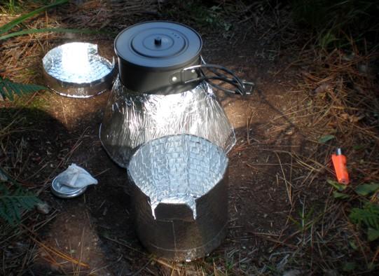 Cómo preparar la comida deshidratada de acampada Te