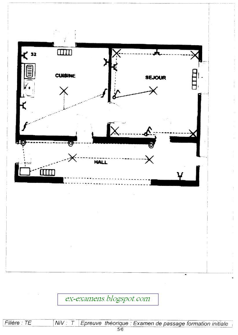 Examen de passage Théorique TEMI 2006 5