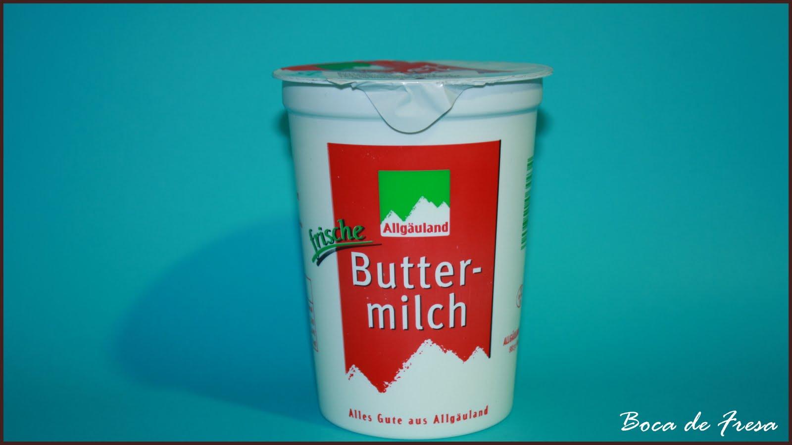 SUSTITUCIÓN  DEL  BUTTERMILK  Buttermilk