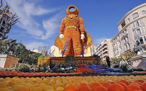 مهرجان الليمون والبرتقال في فرنسا 3