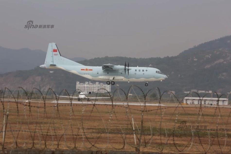 Zhuhai 2014 (11 au 16 Novembre) -  Airshow China 2014      Shaanxi%2BY-9%2Btransport%2Baircraft%2Barrives%2B2
