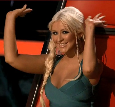 [Video+Fotos] [The Voice 3] Episodio 26: Live Results Show (Completo) [27/Nov/12] Christina%2BAguilera%2BThe%2BVoice