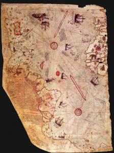 Mysteries That Rewrite Human History  Piri%2BReis%2Bmap