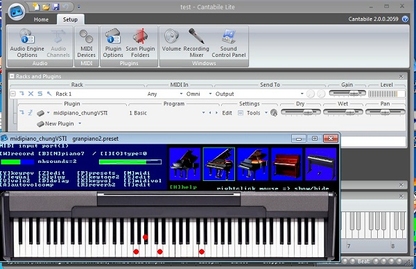 midipiano_chungVSTI vst instrument plugin Midipiano_chungVSTI