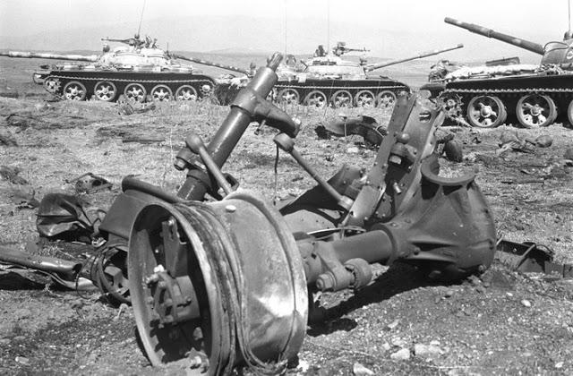 صور معركة وادي الدموع على الجبهة السورية عام 73  Golantanks2sq7