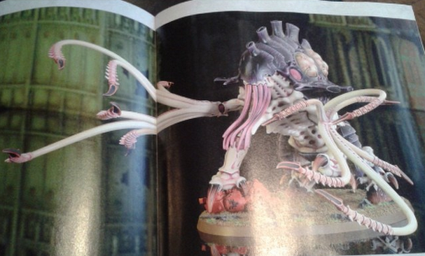New Tyranid Monster Sighted Toxiccrene