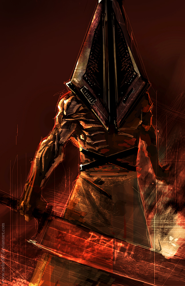Lets Make A Brawler/Fighting Game Roster! Pyramid_head_by_nefar007