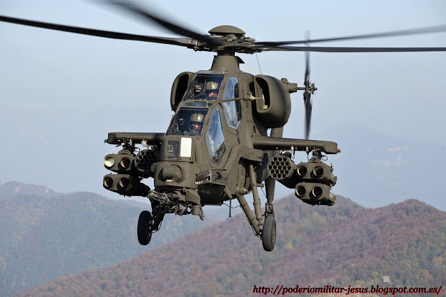 El Ejército de Brasil evalúa helicópteros Agusta Westland para su adquisición. Helicoptero%2BA129%2BMangusta