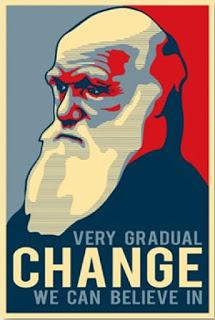 Evolution is a Lie - Intelligent Design is the Truth! Darwin-obama