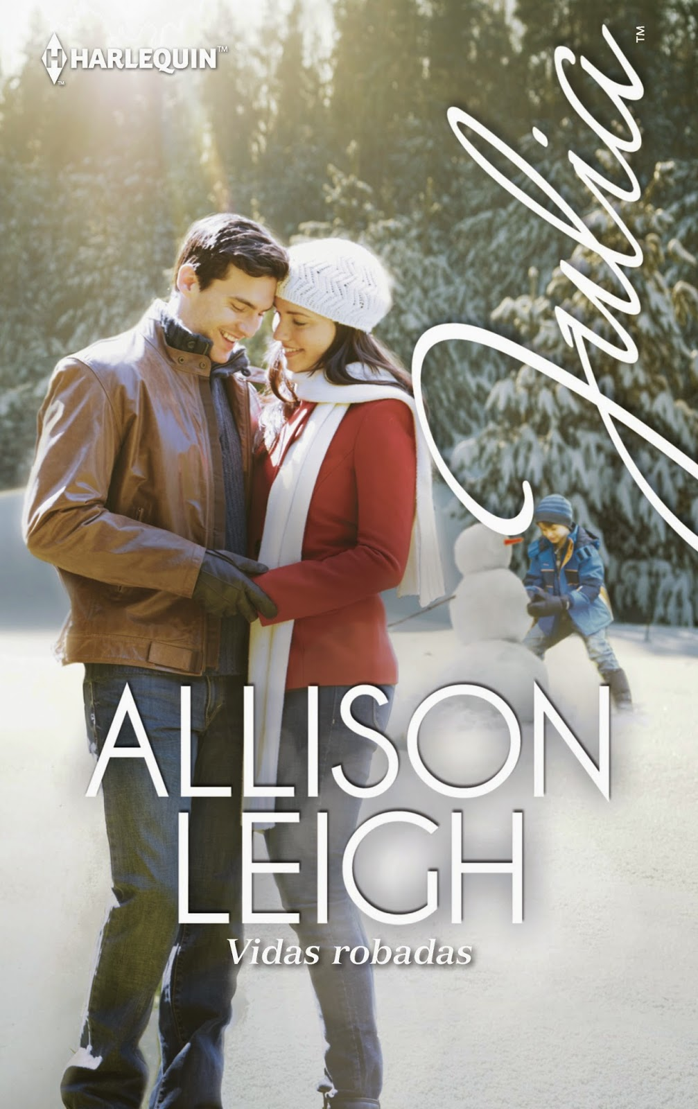 Vidas robadas - Serie Hombres del rancho Doble C, 17 - Allison Leigh (Rom) 1