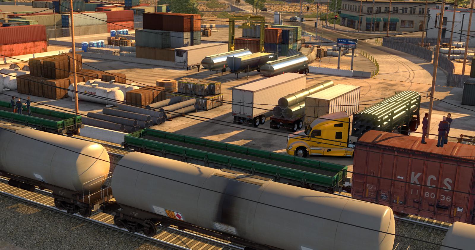 Aggiornamento 1.14 di Euro Truck Simulator 2 ormai imminente e nuovi screenshot da American Truck Simulator 003