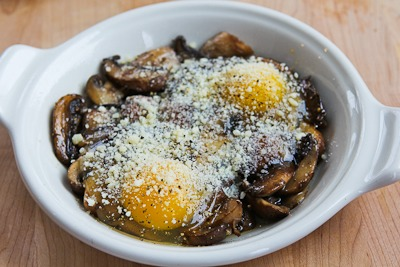 Recipe for Baked Eggs with Mushrooms and Parmesan Baked-eggs-mushrooms-5-kalynskitchen