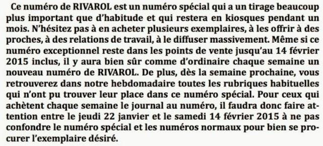 Rivarol: Nici Charlie nici Sharia sau Mossad sau CIA! Rivarol_3171_2015_01_15_1