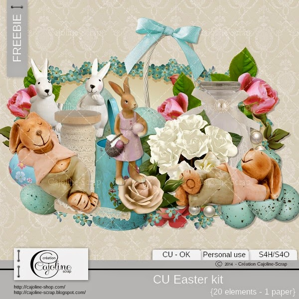 Freebie - CU Easter kit Freebie_cajoline_easterkit_cu