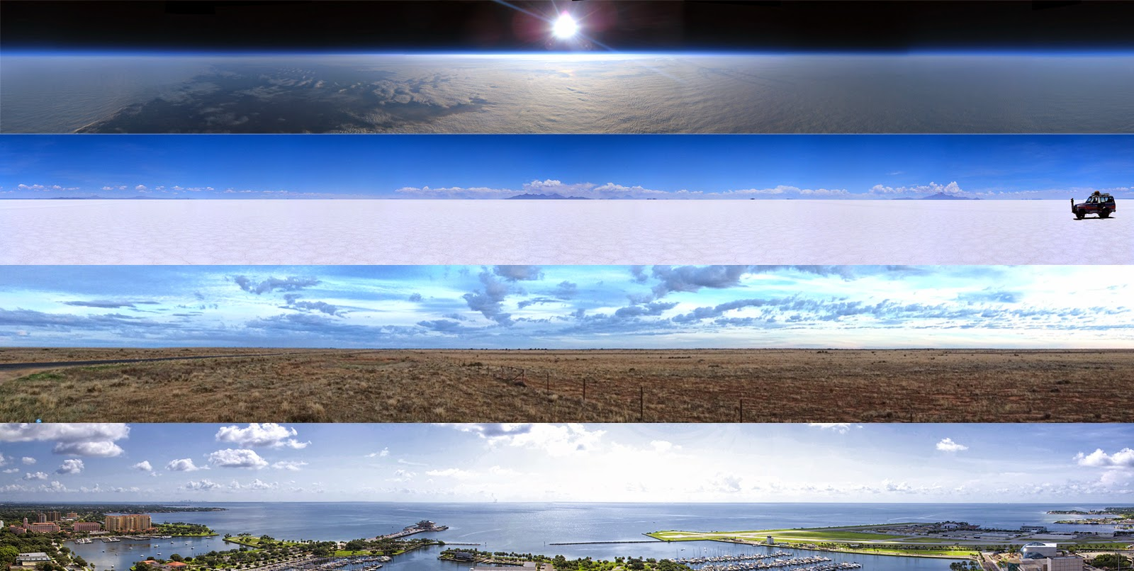 The Measurable Non-Curvature of the Flat Earth Flat-earth-is-flat