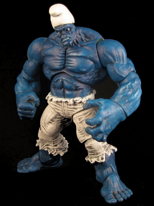 How The Bliggas Press Conference should go Marvel-hulk-smurf