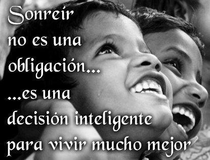 Una Sonrisa es Alegria Frases-de-sonreir