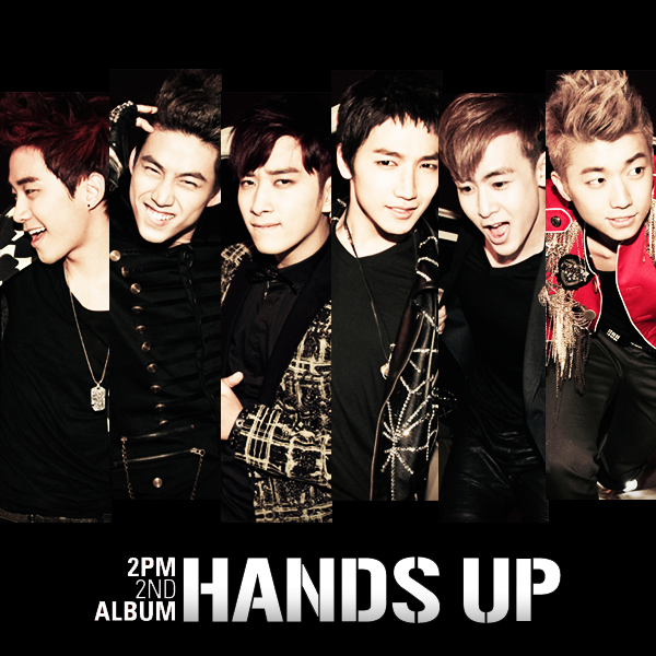 2pm Collection Single & Album Cover Hands_up_1