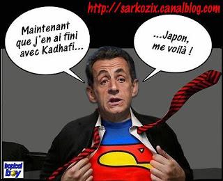 كيف بدأت الرافال - صفحة 2 Sarkozy%2Blibye%2Bsuperman