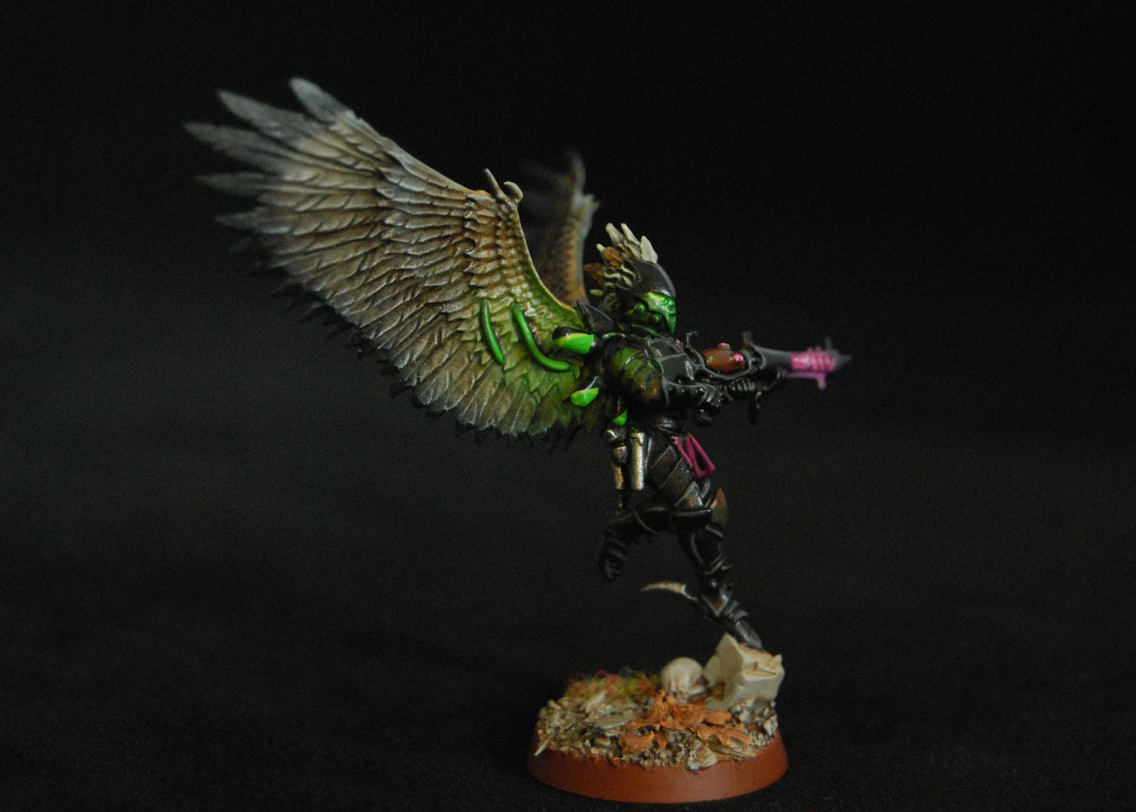 EOE's Dark Eldar Painting Tutorials  Birdwing_Scourges_14