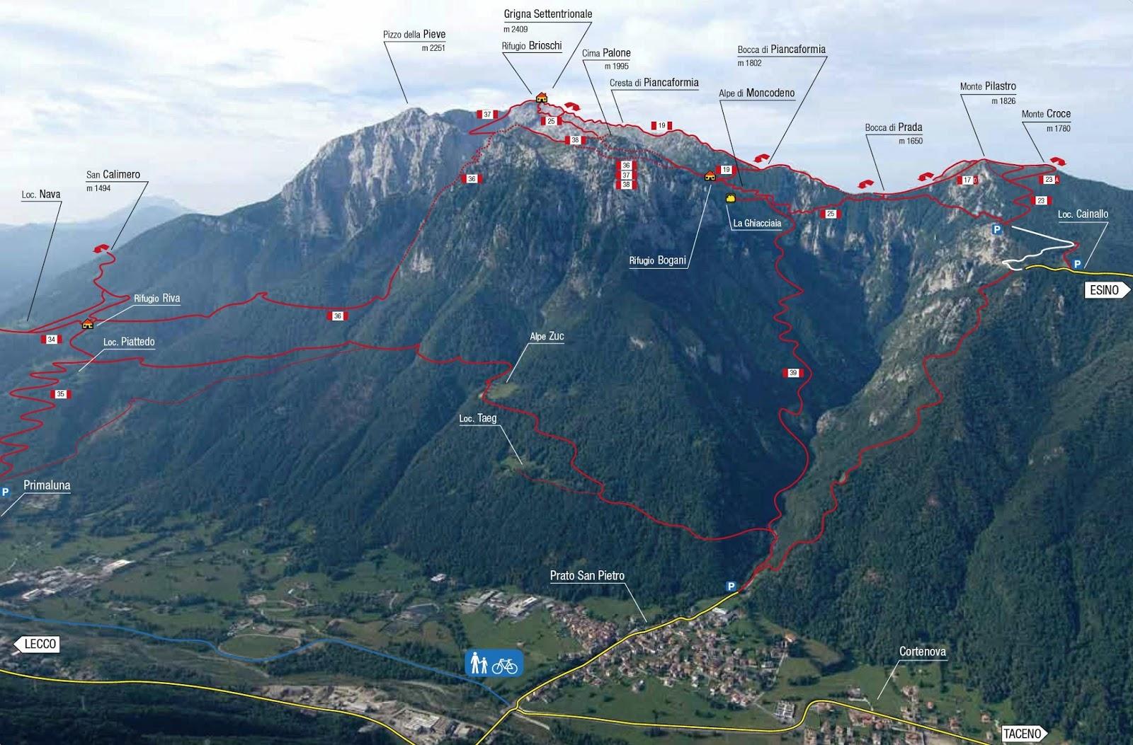 KRK island trail Grignone2
