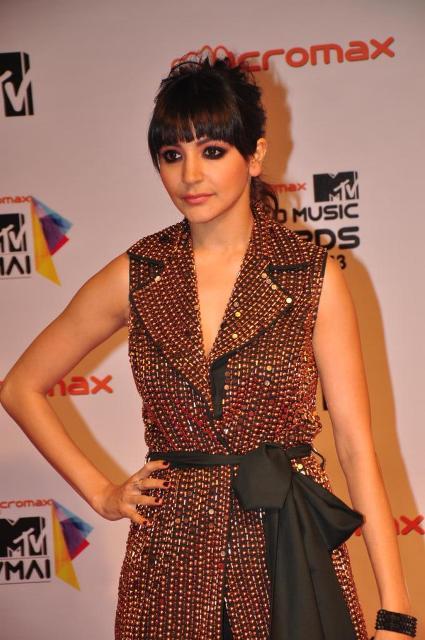 Anushka Sharma at Micromax MTV Video Music Awards India 2013 Micromax-MTV-Video-Music-Awards-India-2013-91