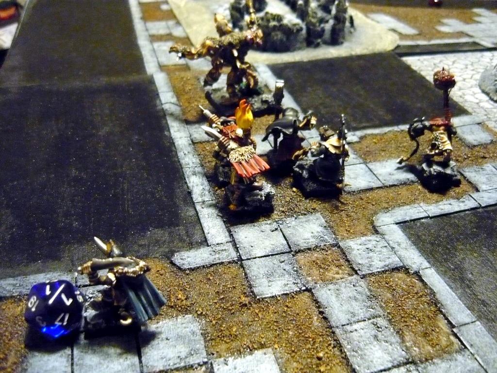 Testing Karak Zorn - first battle in the dungeons P1050507