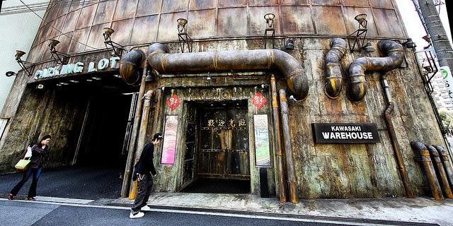 El mejor salón recreativo del mundo Kawasaki%2BWarehouse