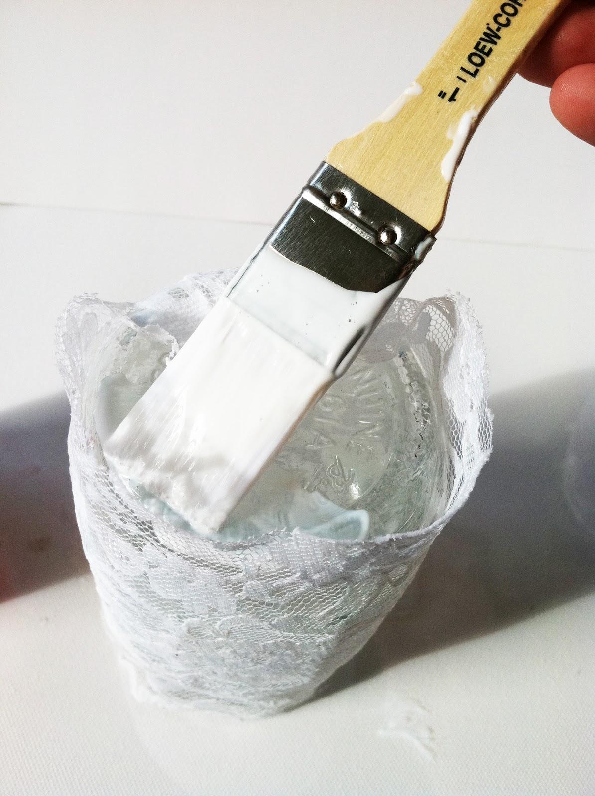 Project DIY: Lace Mason Jars  IMG_6146