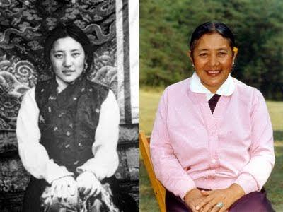 le décès de Khandro Tsering Chodron Khandro%2B1956%2BLhasa-1984%2BDordogne
