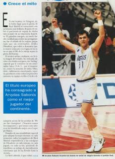 REAL MADRID / OLIMPIAKOS G5 - Página 5 Sabonis
