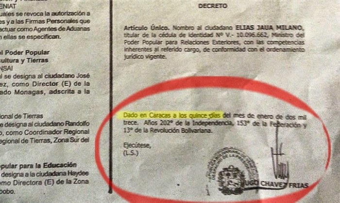 Gobierno de Nicolas Maduro. - Página 2 Chavez%2Bfirma%2B2%2Belias%2Bjaua%2Bcanciller%2Bgrande