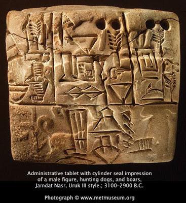 Envisager les extra-terrestres - Page 3 Sumerian_tablet