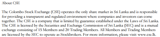 Colombo Stock Exchange adopts GICS Cseee