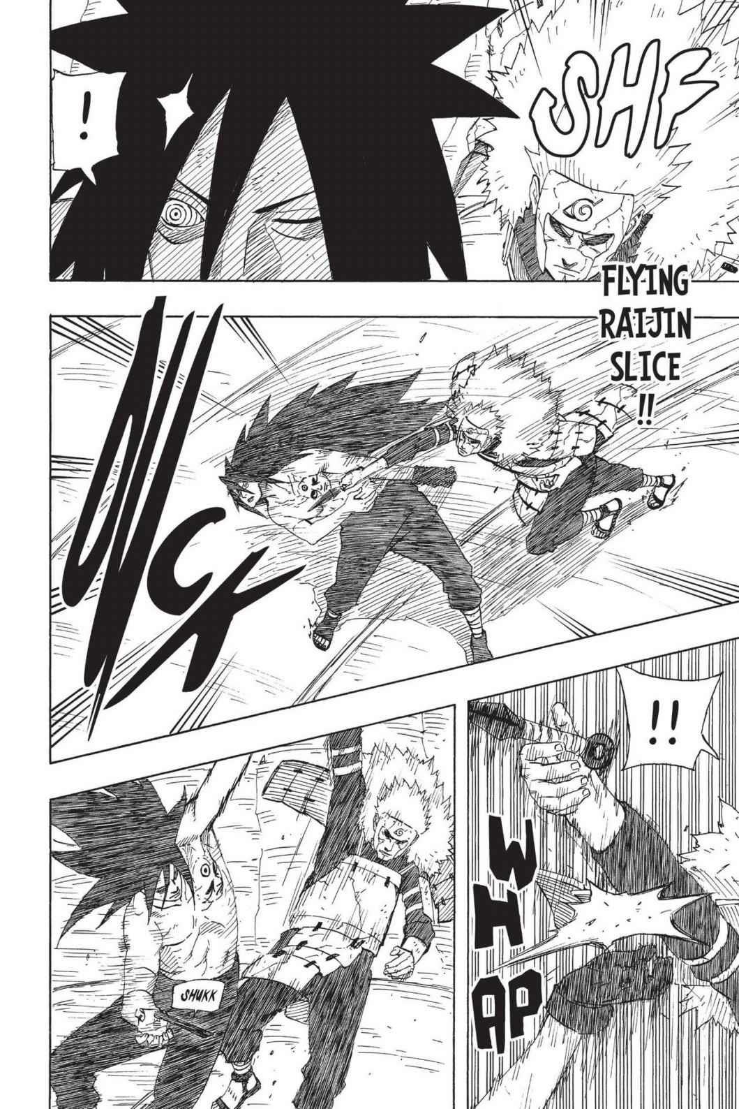 Capacidade de reação - Gai vs Madara Jin 0661-006