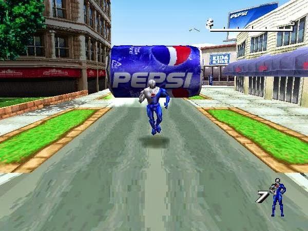 Pepsi Man Game 2