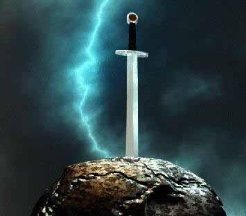 Symbole de la croix ? Excalibur
