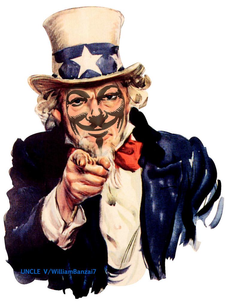 Internet n'est plus libre depuis ce soir - (Jeudi 19 Janvier 2012) Uncle%2Bsam%2Banonymous%2Bface