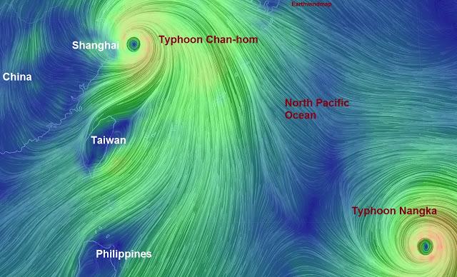 Typhoon Chanhom Lashes Miyakojima Japan 10th July 2015 台風第9号宮古島  Untitled