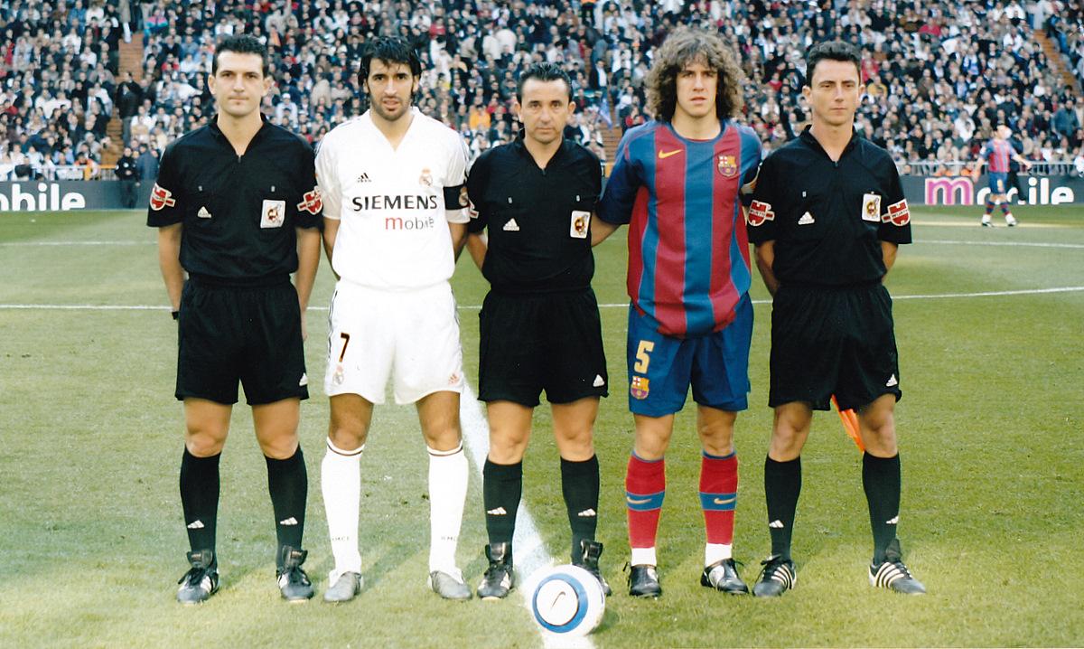 ¿Cuánto mide Carles Puyol? - Altura - Real height Arbitro%2B5