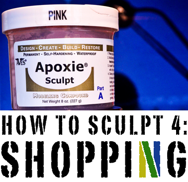 How to Sculpt: a Series Shopping_Header