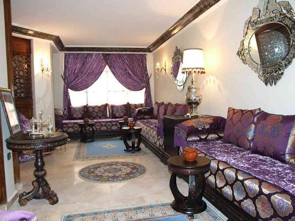 اجمل الصالونات المغربية الراقية  2