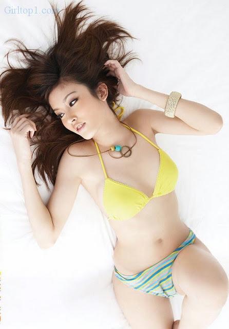Girl Thái Lan xinh xắn với Bikini Thai-girl-in-lingerie-4