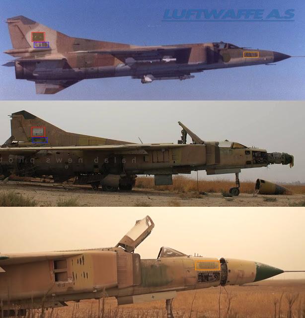 القوات الجويه السوريه .....دورها في الحرب القائمه  MiG-23MS%2BComparison