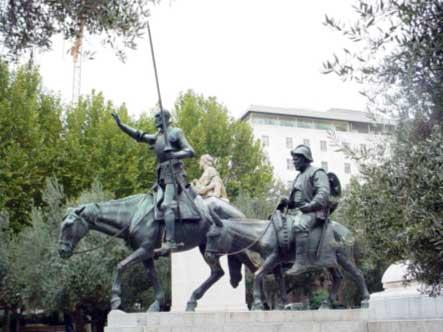 الدون كيشوت و جيوشنا العربية  Plaza_de_Espana